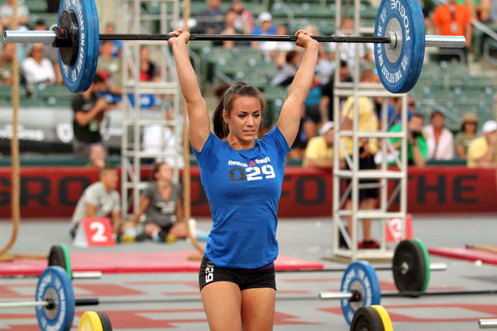 Camille Leblanc-Bazinet - 2014 CrossFit Games Winner. (Source:   games.crossfit.com ).