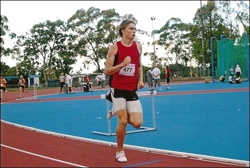 Before I knew about nutrition and weights I used to run (2008).
