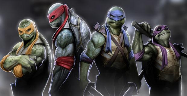 Teenage Mutant Ninja Turtles - In cinemas now.