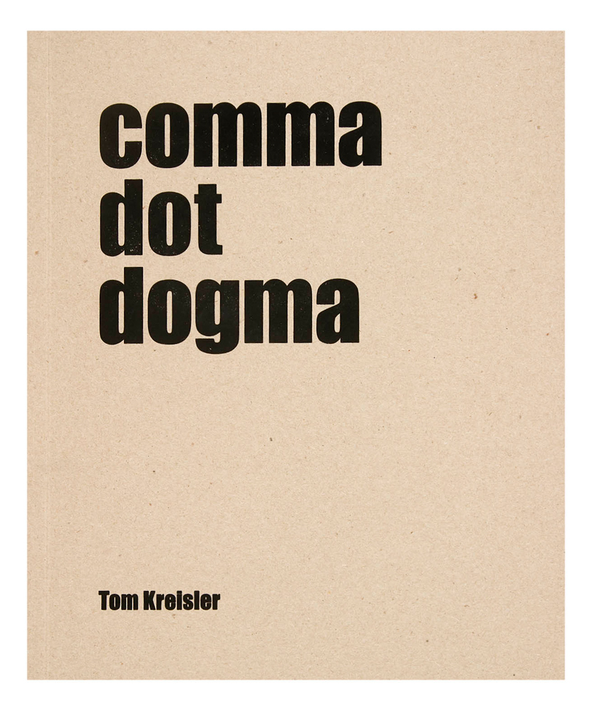 Comma Dot Dogma, cover