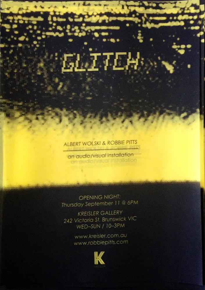 Glitch poster.