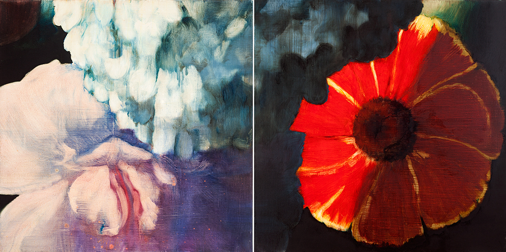 Tim Maguire Diptych