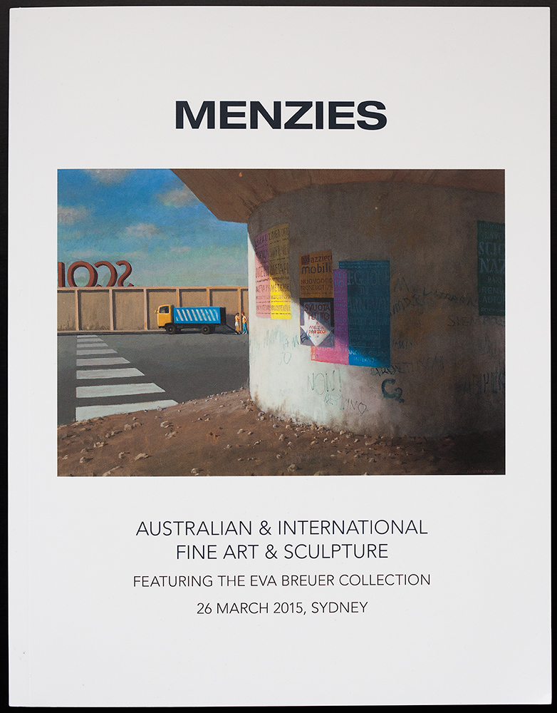 Menzies catalogue cover.