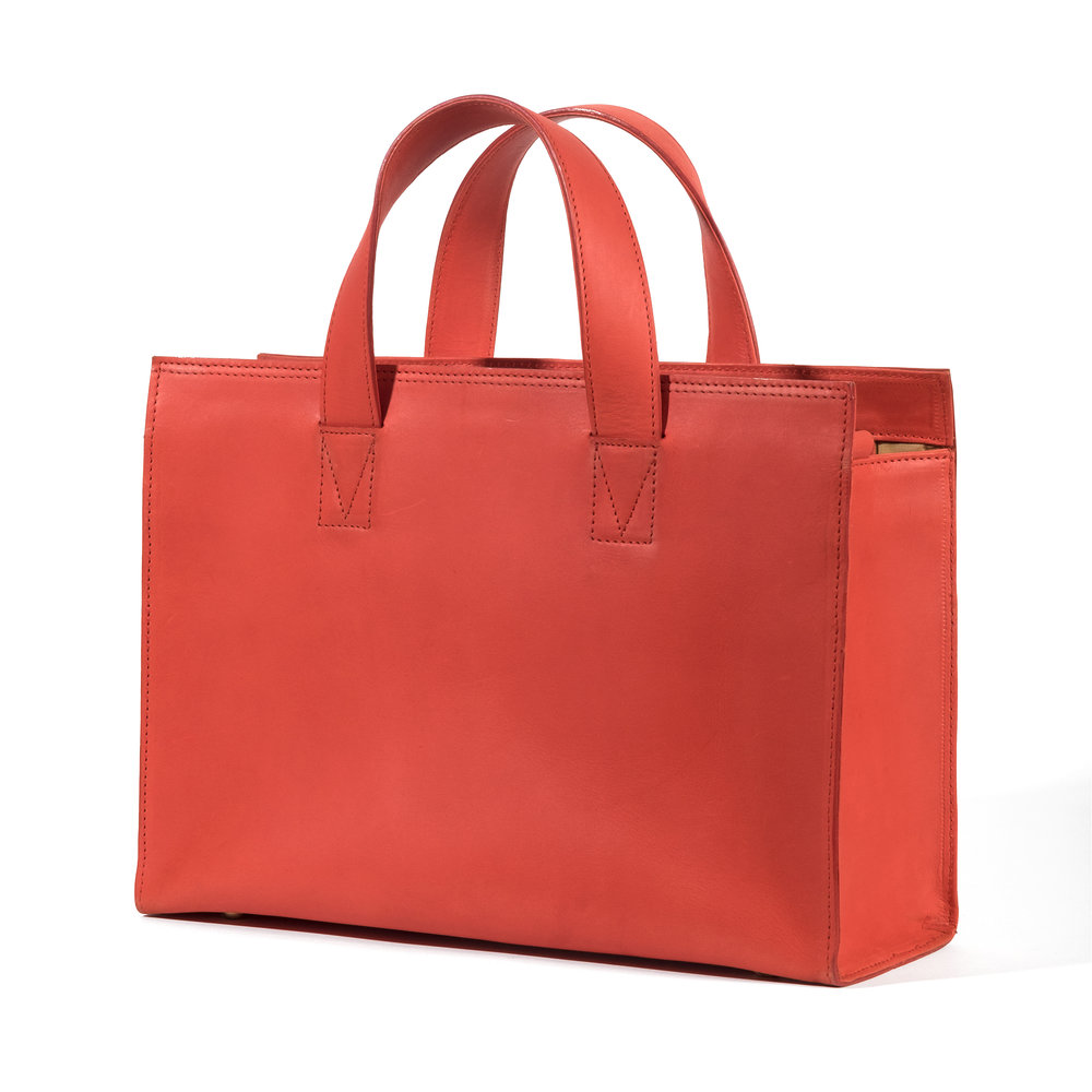 Marchi Leather - red bag.