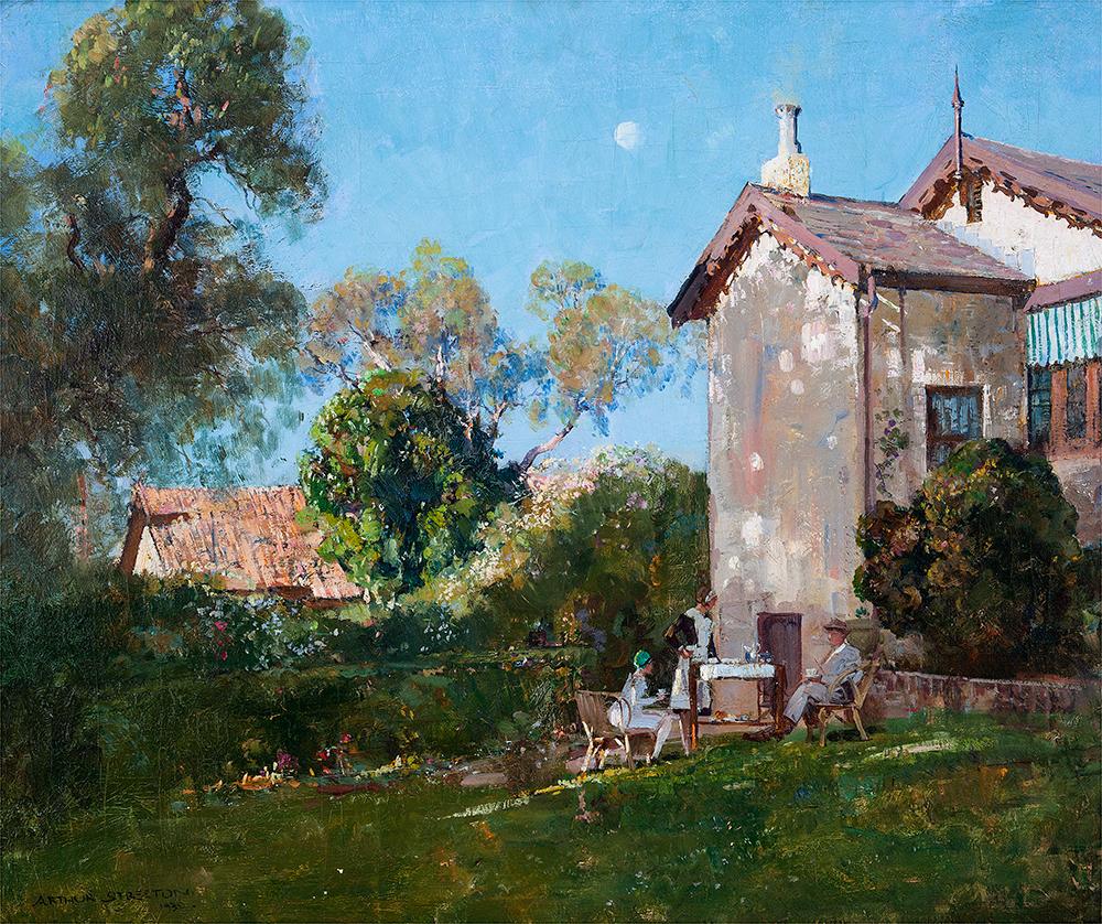 Arthur Streeton painting.