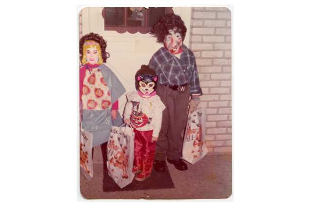 All dressed up with somewhere to go - circa 1976. This is one of my favorite family photos of all time.