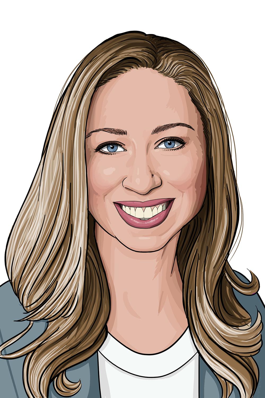 Chelsea Clinton Portrait