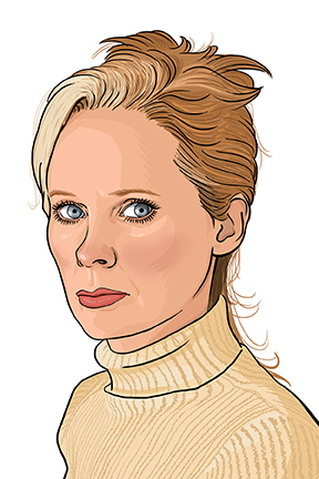 Portrait of author Mary Gaitskill