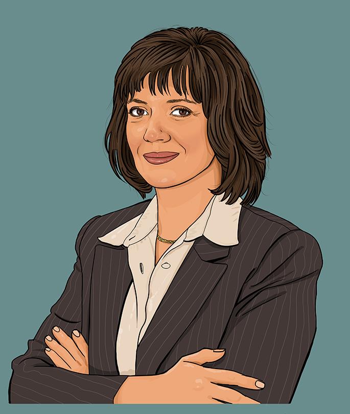 Simona Rollinson, Cook County Ill. CIO.
