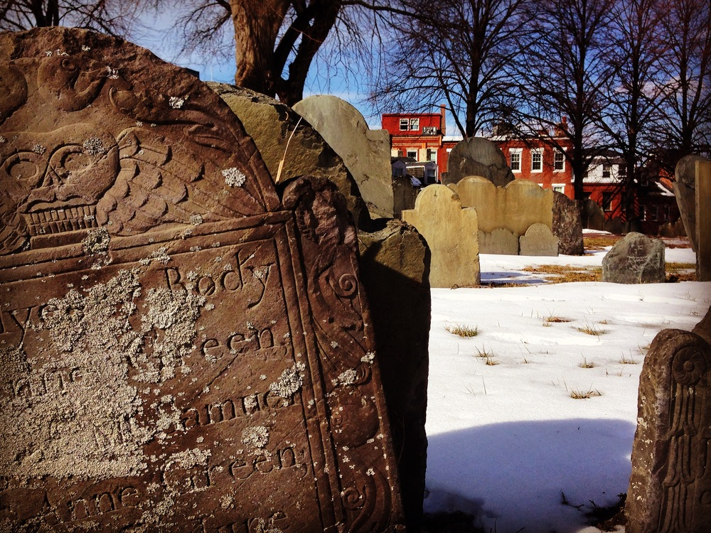 Copps Hill Burying Ground, Boston Mass.
