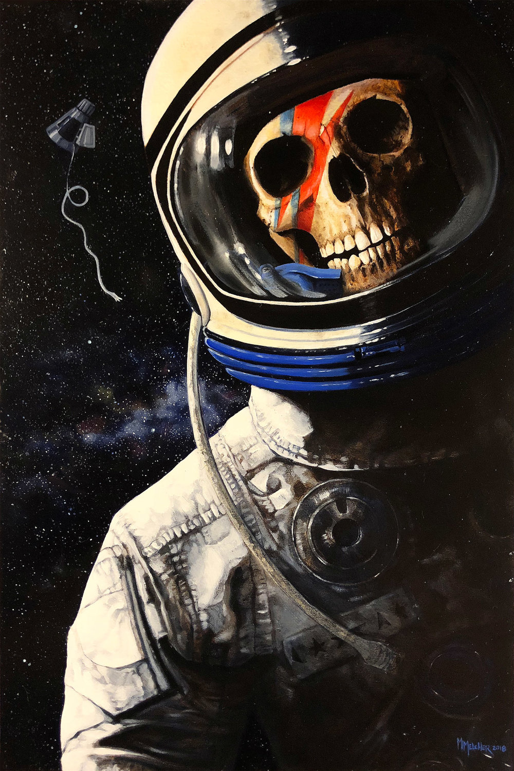 Space Oddity by Michele Melcher