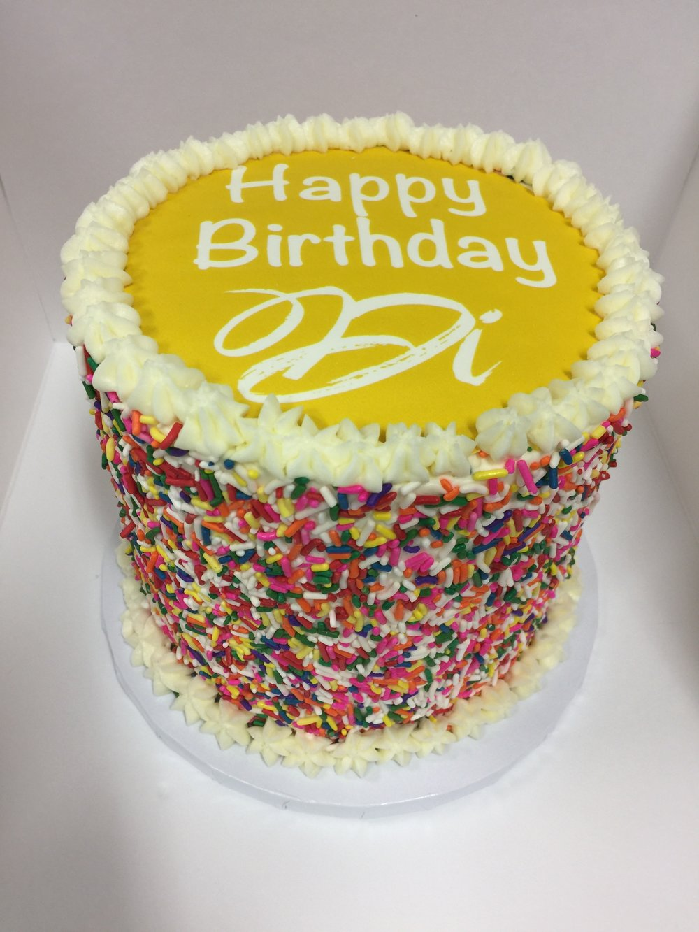 Birthday Cake - INCLUDES PERSONALIZED  MESSAGE6