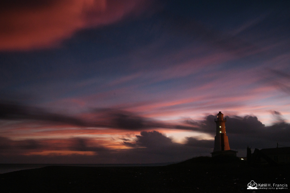 Palisadoes Lighthouse at Dusk