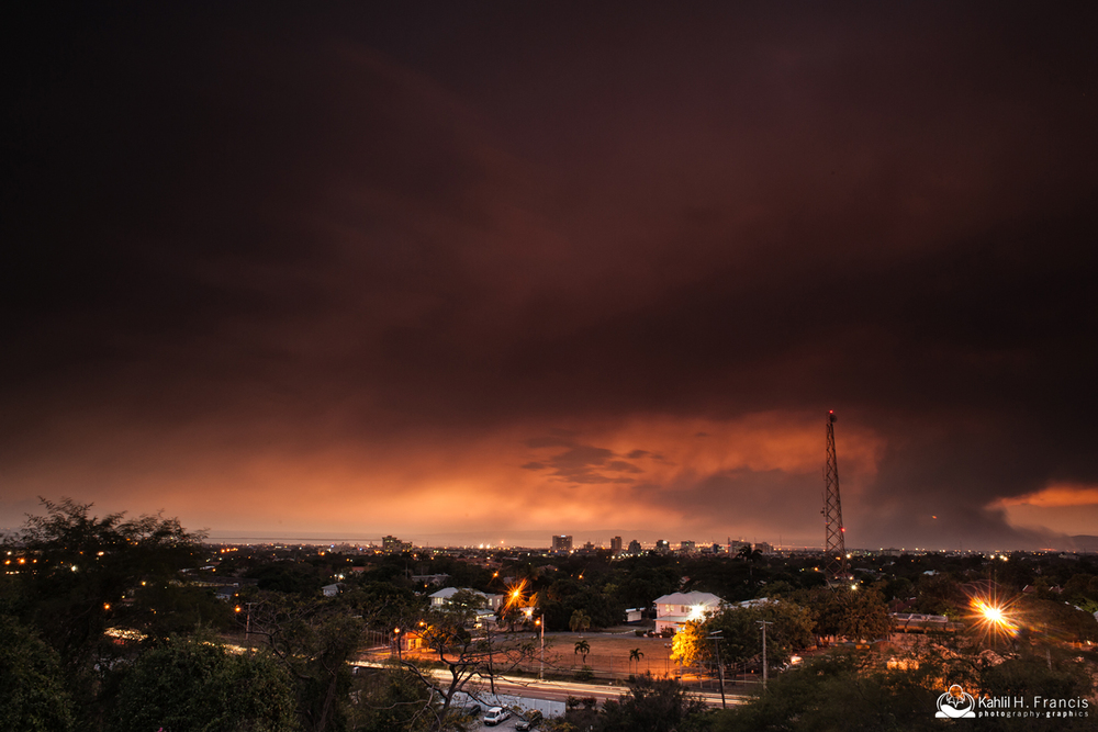 Dark Skies Over Kingston