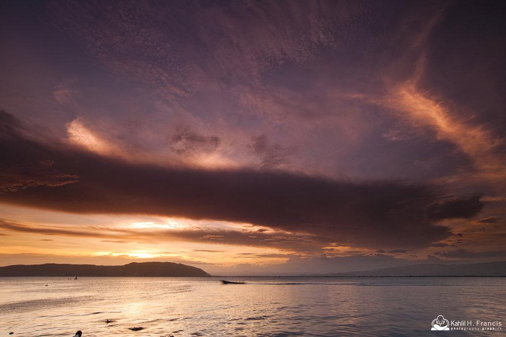 Skies of Port Roayal at Sunset