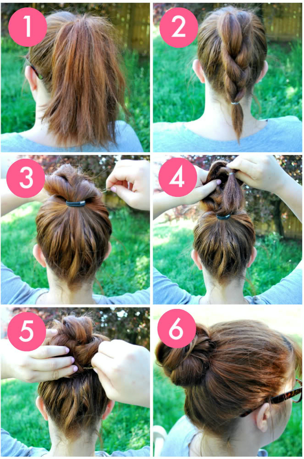 Phenomenal Easy 5 Minute Hairstyles Park Avenue Blow Dry Salon Amp Nail Bar Hairstyles For Men Maxibearus