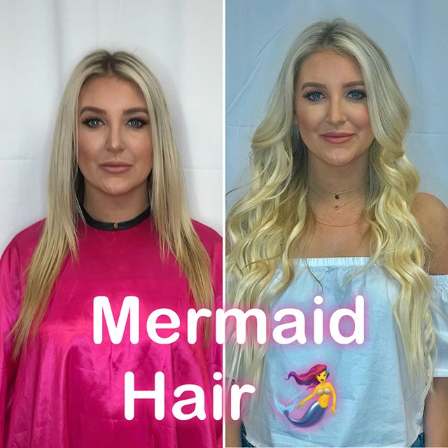 I just finished the Mermaid Maker Hair Extension class with @mermaidhairxo with @mermaidhairxo I am so excited to have found a brand of hair extensions that I can fully get behind and invest my time into! These extensions carry a vast assortment of blondes and they are fully customizable to perfectly match multidimensional hair. #mermaidhair #thickesthairinthesea #phoenixsalon #scottsdalesalon #phoenixhairextensions #phoenixstylist #bombshell