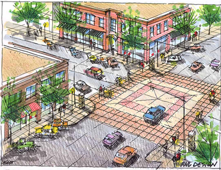 Edmond Downtown Masterplan