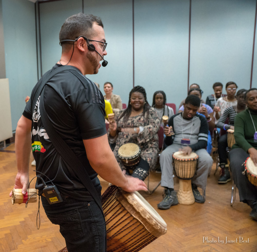 Saya Percussion raises the roof with music, rhythm and energy!
