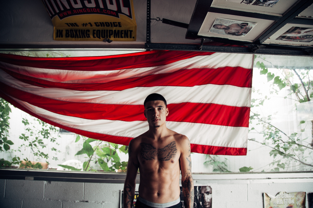 Boxer Dusty Harrison for  Undo  Magazine, Issue 2.