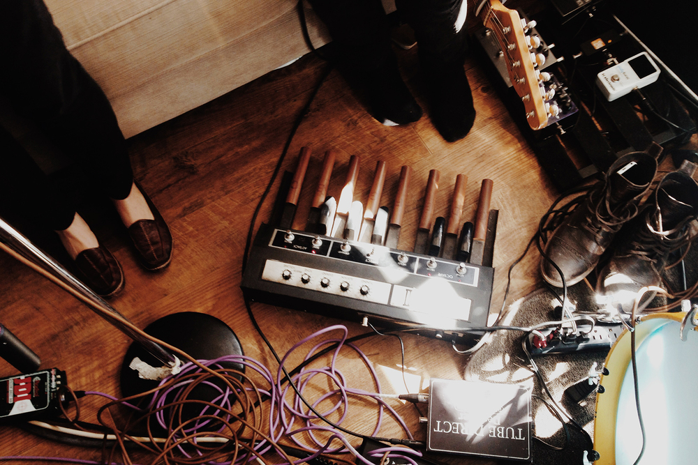 Rehearsal and recording for Joseph LeMay's music videos. Shot on iPhone 5s.