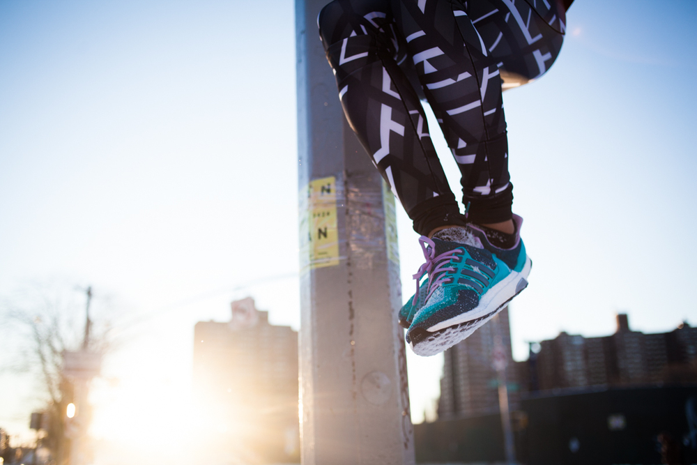 Photography for  UndoOrdinary on the  AdidasNYC social media channel throughout the month of February 2016.