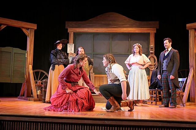Role call...who's coming to see the show? This weekend ONLY!! #thetamingoftheshrew #shrewcrew #theatre #fayettevillear #goldrushdays