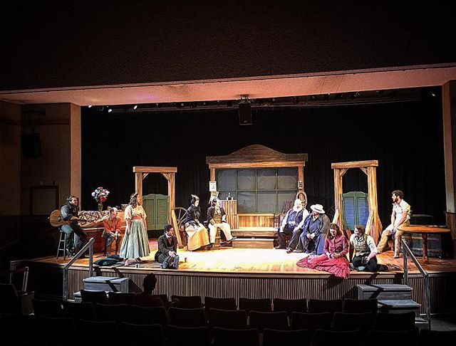 Final dress rehearsal ❤ Please come and support these wonderful actors and this amazing play! Freeeeee admission!  #love #theatre #shrewcrew #thetamingoftheshrew #fayettevillear #freeadmission