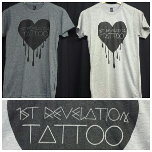 Dripping Heart $20.00    Available in Charcoal grey or Heather grey