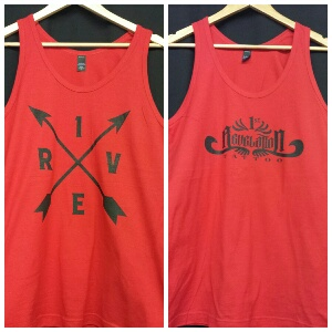 Arrows or 1st Rev Logo TANKS   $20.00    Available in Red only