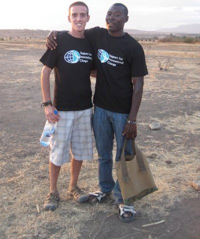 Uswege and I in the village where we lived as Coordinators for the SIC Volunteer Program in 2010.