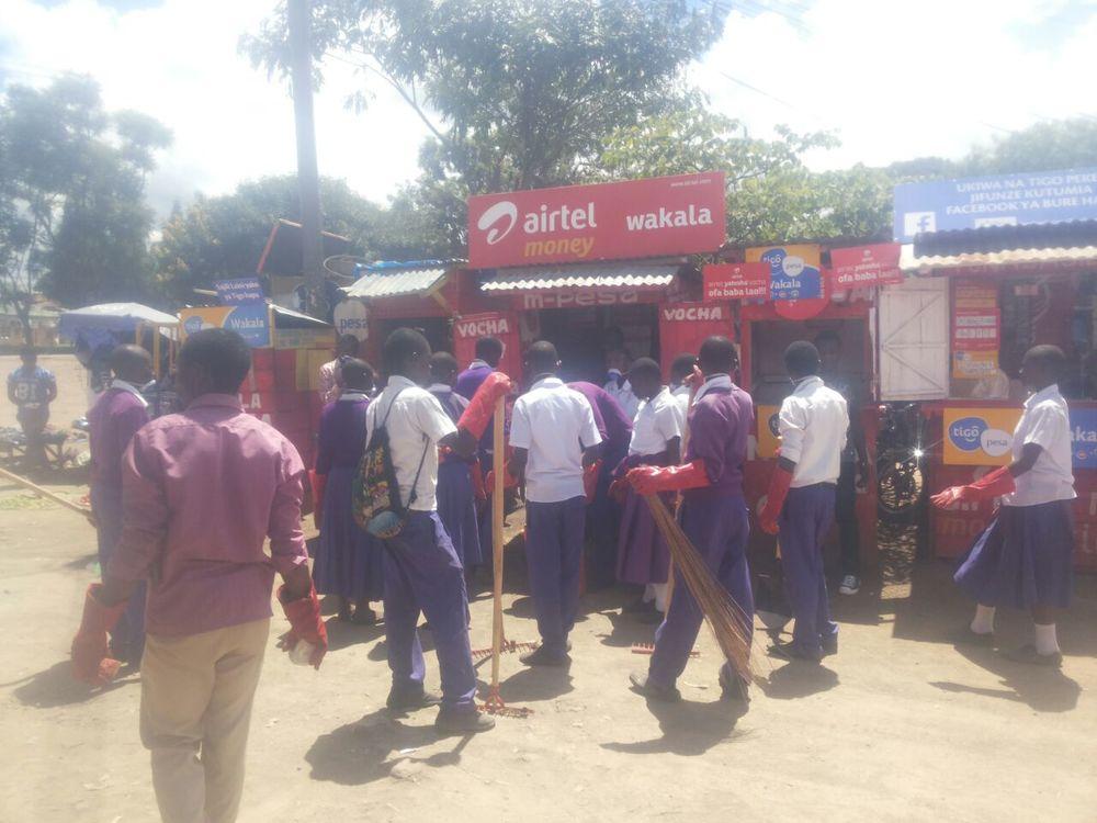 Nzovwe Market in Tanzania