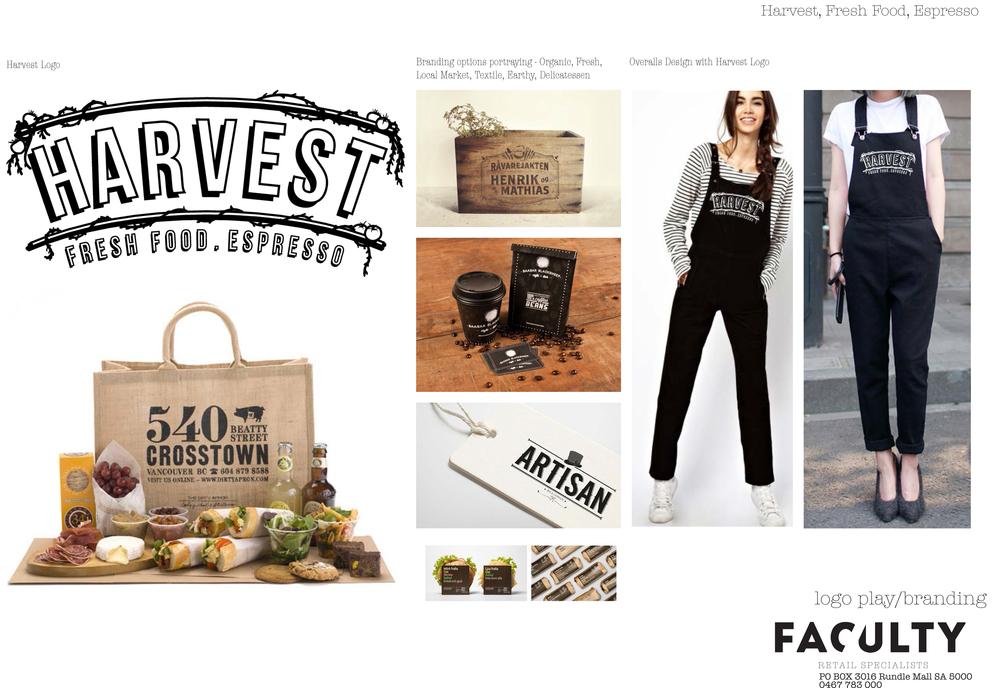 Harvest Fresh Branding