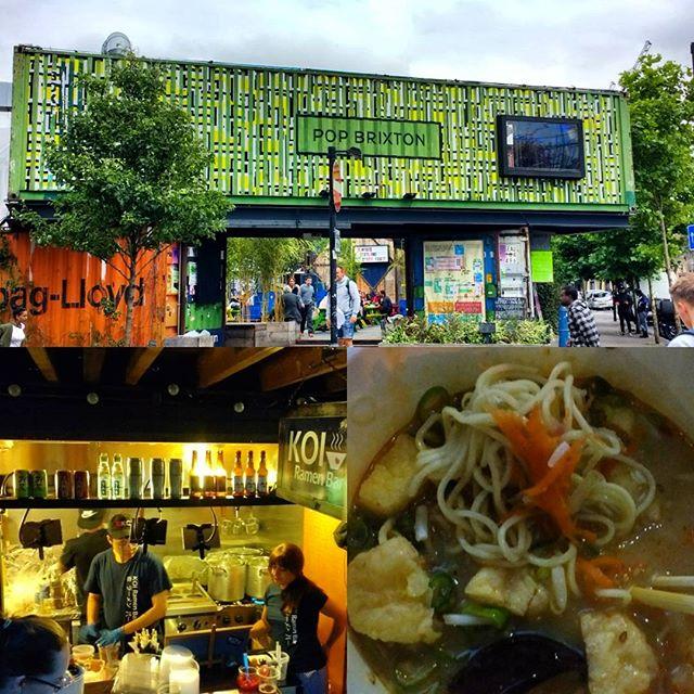 In London for a visit. Tofu ramen @koiramenbar  inside @popbrixton  #eeeeeats #foodilysm #foodporn #foodie #instafood #instagood #forkyeah #newforkcity #eatingnyc #nomnom #burmesefood #foodandwine #saveur #burmanoodlebar #Brooklyn #nyc #london #popbrixton #brixton #popup #vegetarian #noodles #ramen #thursday