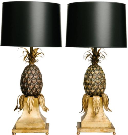 bando gold do lamps lamp ban progressive pineapple collections
