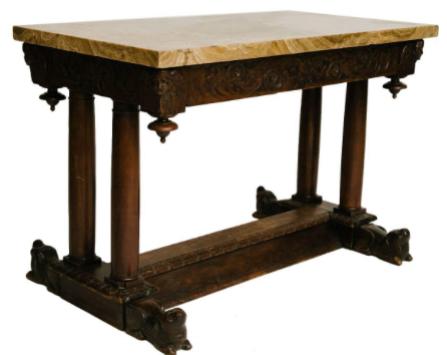 17TH CENTURY ITALIAN CENTER/CONSOLE TABLE