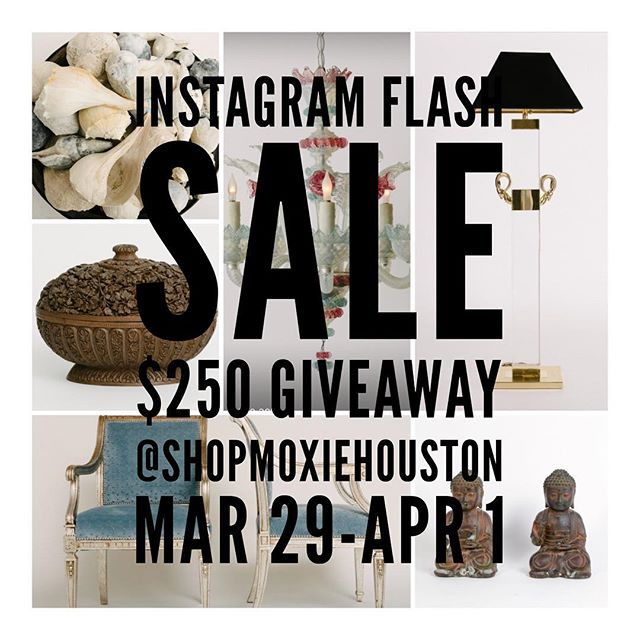 It's here! Help Moxie spread the word about their Instagram Flash Sale and enter to win a $250 Moxie gift card. Follow @shopmoxiehouston , ❤️ their listing and tag a friend is all you have to do to enter. Each tag is considered an entry, so tag away! Accessories have free U.S. shipping. #giveaway #houston #htx #houstondesigners