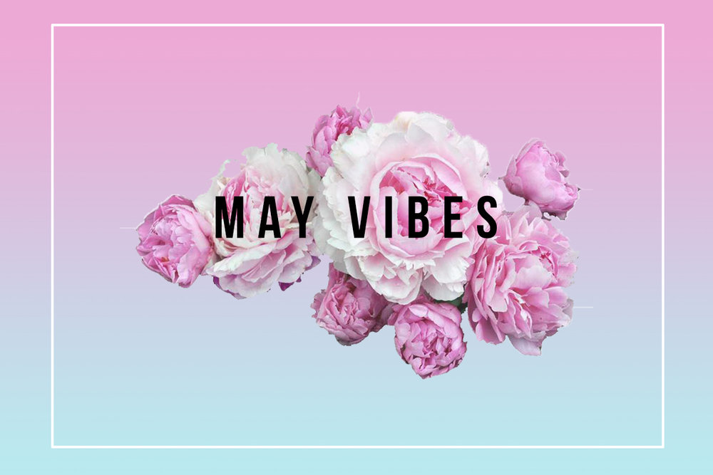 May vibes, a playlist specially curated for xoalwaysrae.com