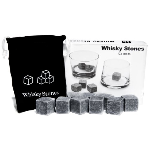 Whisky Stones Set of 9 Rounded Soapstone and Bag.jpg