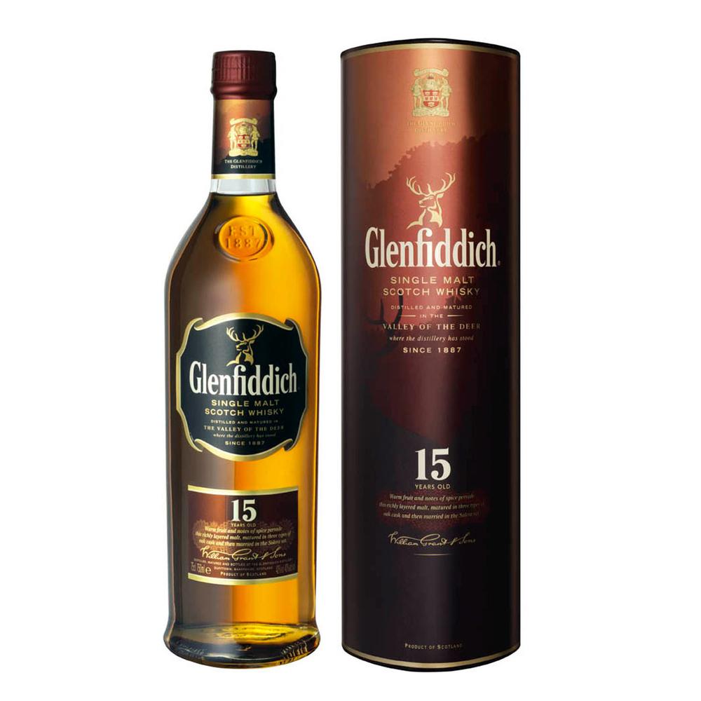 Glenfiddich 15 Solera Reserve Scotch Malt Whisky | WhiskeyTimes.com.jpg