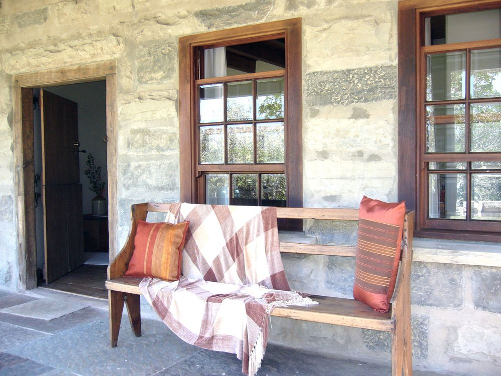 Verandah stone sourced from the Cradock district