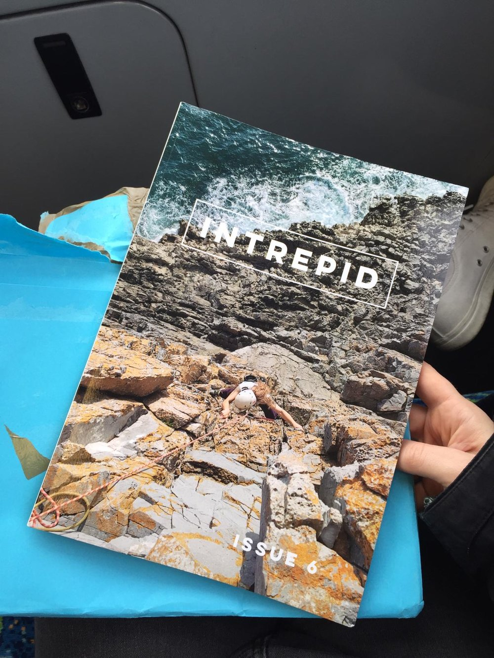 "2. Intrepid Magazine - Issue 6 - Intrepid magazine is a pretty cool thing in my eyes. They are the only female-first print and online adventure magazine that I know of, and so I pitched them an article where I talk about The Highs and Lows of Hiking - not the most inspired article title, but it's basically me looking at the different things that affect my motivation while we've been working on Tough Soles. In it, I imagine ""the elephant in the room"" as three actual elephants that lumber along the hillside behind me as I hike. Note: If I'm perfectly honest, I haven't re-read my article since it's been published, as I'm afraid I won't like it."