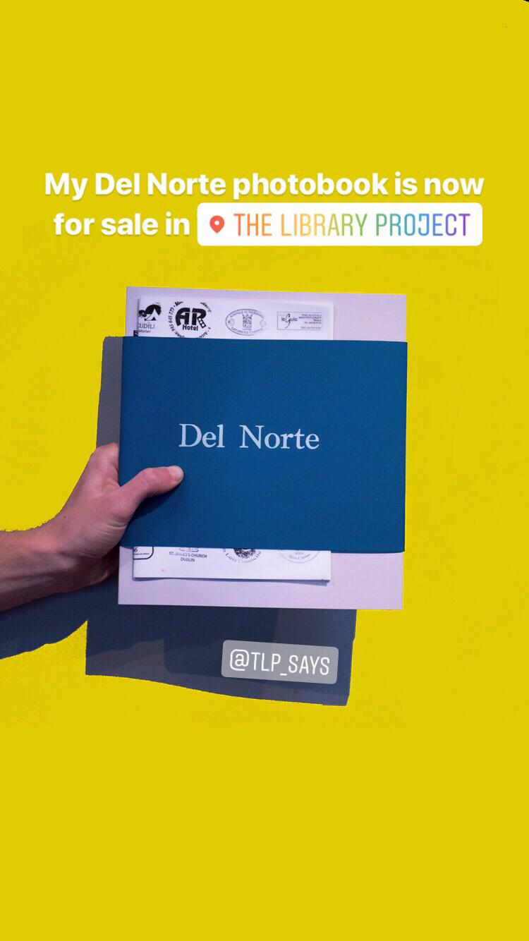 3. Del Norte:self published photobook - This book isn't exactly new - in fact, I first started making this in 2016. However, when I found out in October that I'd been accepted onto my masters programme I decided to run a little online sale, and included my Del Norte books. Being the first photobook I'd ever tried to make, it's not the surprising to me that there are many things I would change about it. And, happily enough, there was one thing I decided I could change: text.When I published this I first didn't have any text, but when I exhibited some of the prints back in 2016, I printed off diary extracts and stuck them to the walls. Since then I've wondered how I could incorporate the text into the book. I ended up making a couple of different versions - in one copy I stuck the text in on tracing paper between or onto the pages. It almost worked, but wasn't quite right.