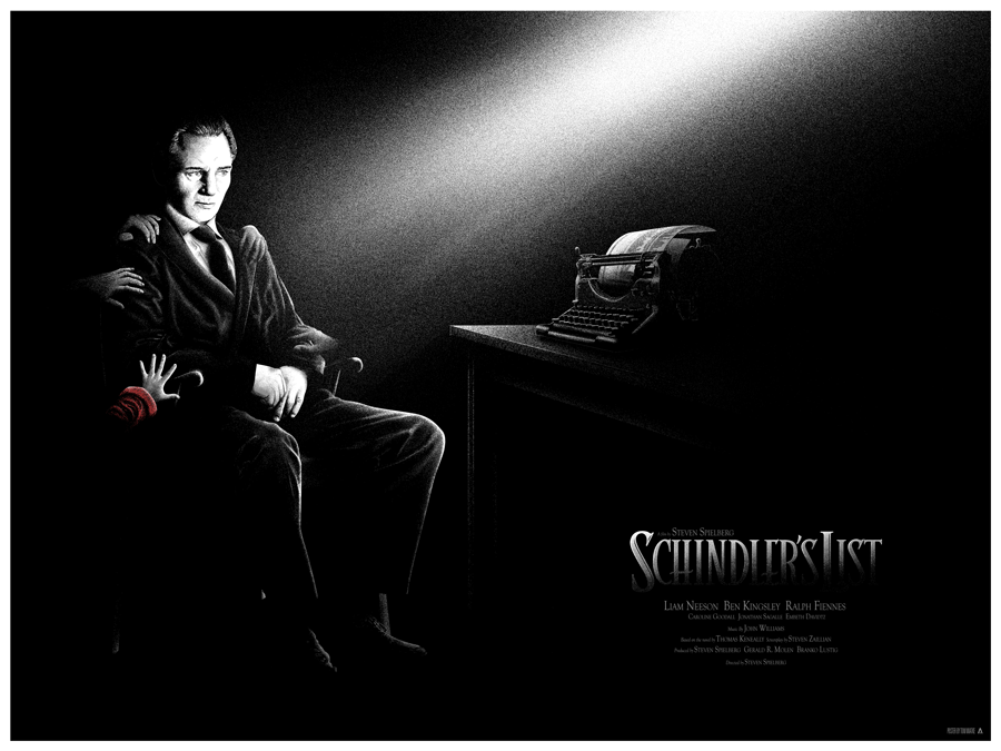 Schindler's List (Art Print) Edition of 30 Giclee $40USD