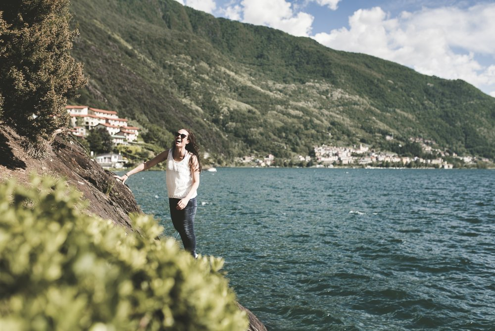 Lifestyle Shoot at Lake Como