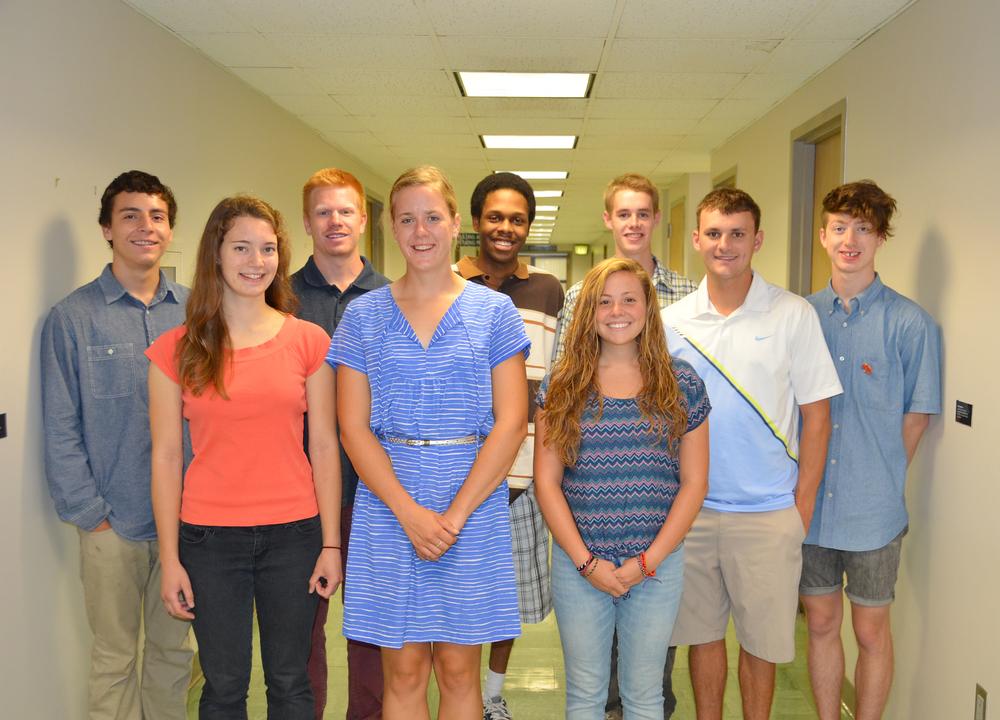 CRC Interns 2012-13