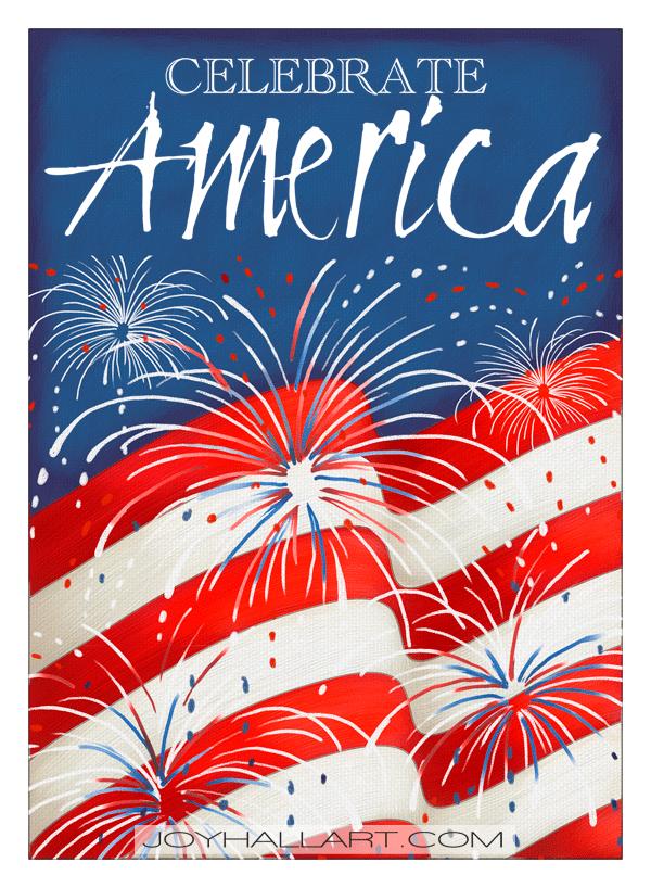 Joy Hall-Celebrate America