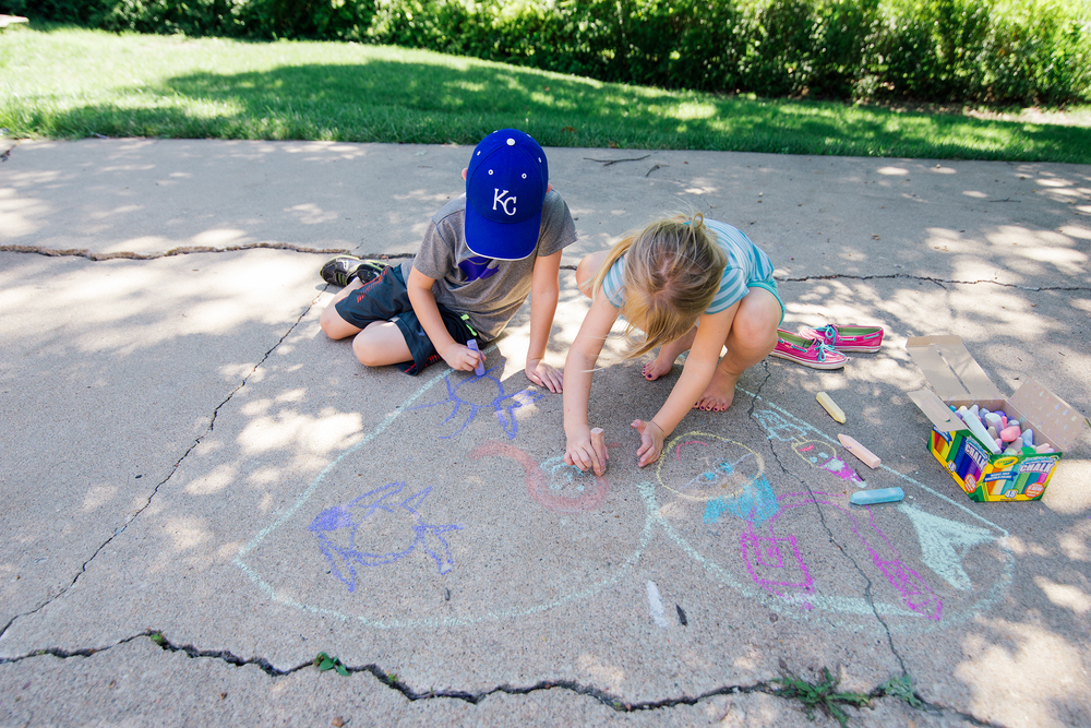 Sidewalk Chalk Creations