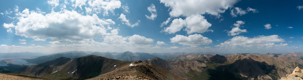 Mountain View From The Summit Of Mount Elbert