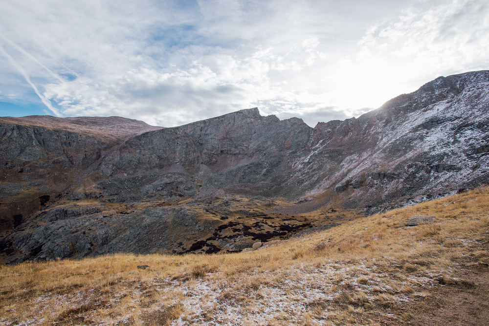 Mount Bierstadt, Sawtooth Ridge